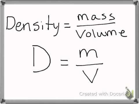 density formula