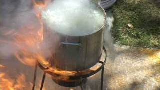 Turkey Deep Fat Fryer Public Service Announcment
