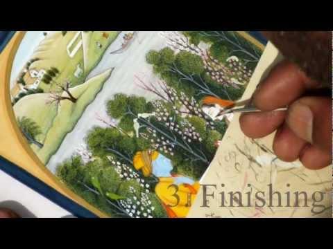 Pahari Miniature Painting: The Technique