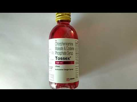 Best syrup for cough and cold |Chlorpheniramine|codeine phosphate|tossex |medicine|treatment