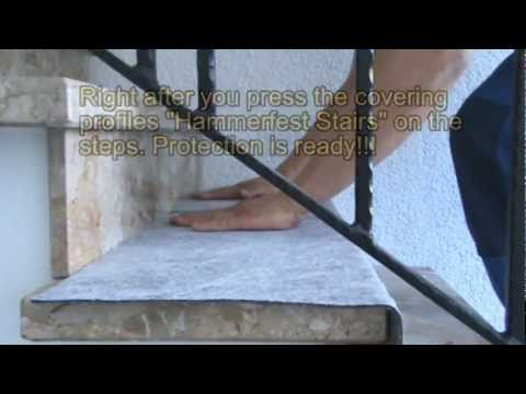 Effective Protection of Natural Stone Floor Steps, Stairs and Staircase