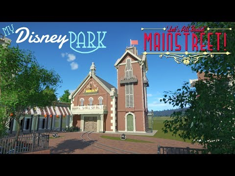 Fire Station | My Disney Park in Planet Coaster [S1:EP3]