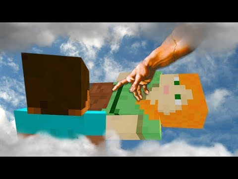 REALISTIC MINECRAFT - STEVE AND ALEX ARE GETTING DELETED!