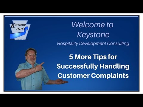 5 More Tips for Successfully Handling Customer Complaints