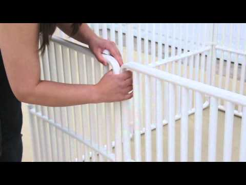 Modular PVC Dog Cages - Rover Company