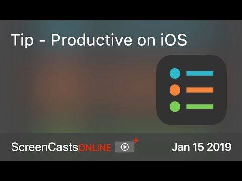 SCOM0804 - Tip - Productive on iOS
