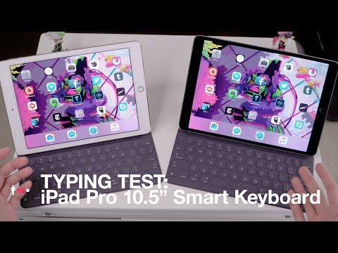 TYPING TEST: iPad Pro 10.5