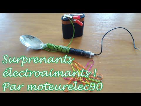 Comment faire un électroaimant ? Tuto simple avec une cuillère !