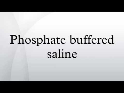 Phosphate buffered saline