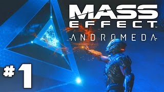 Mass Effect Andromeda - Part 1 - The Andromeda Initiative!- First 2.5 hours of Mass Effect Andromeda