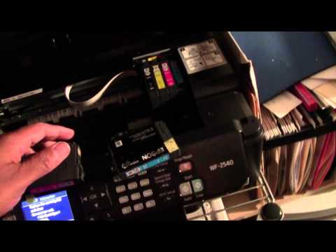 How to Change the Ink on the Epson WF 2540 | H2TechVideos