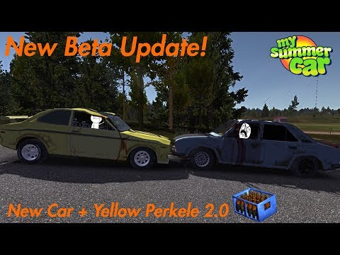 Beta Update: A New Car + Yellow Perkele 2.0 | My Summer Car