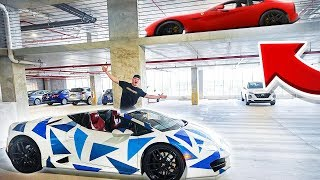 PLAYING HIDE AND SEEK WITH SUPERCARS!