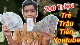 TRẺ TRÂU Nhận 200 Triệu Tiền Youtube Để Chơi Tết | TQ97
