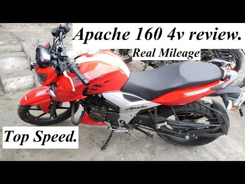 TVS Apache 160 4V review  Pros & cons, Top speed, Real