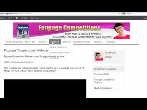 Fanpage Competitions Starter Kit - Learn How to Create a Compliant Facebook Contest