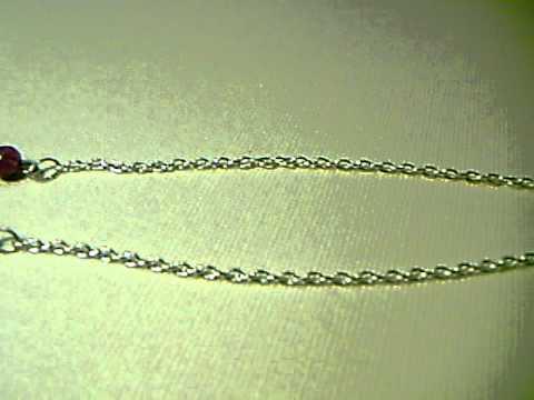Eyeglass Holder with Purple Beads