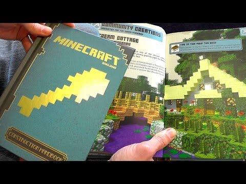 Minecraft Construction Handbook Guide Book Review