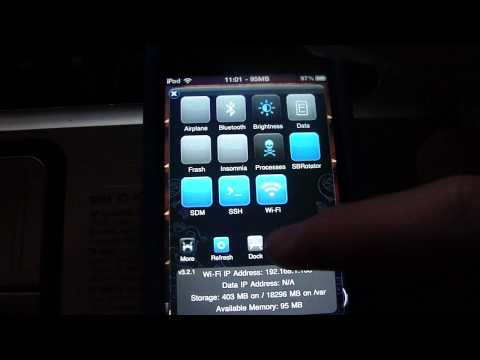 How to reset SSH Password to alpine on ipod touch/iphone Tutorial + Voice