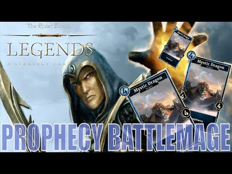 Prophecy Battlemage with Unstoppable Rage - Heroes of Skyrim