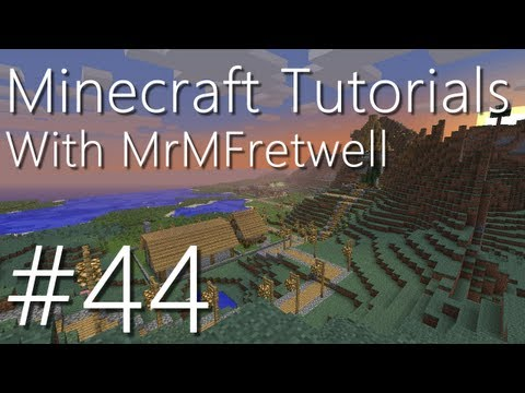 Minecraft Tutorials: E44 - Cave Spiders and Treasure Chests (Tutorials Season II) (M321)