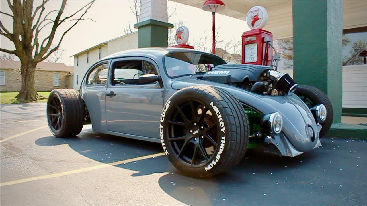 HEMI powered VW Beetle, A Real Life Hot Wheels! The HEMI BUG