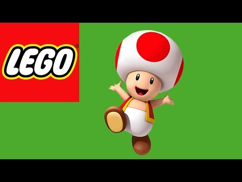 How to Build Lego Toad from Super Mario World