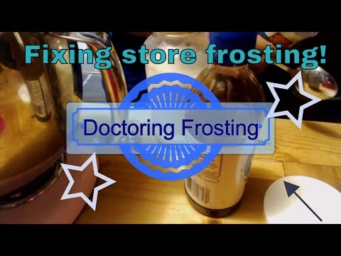 Super Hero Store Bought Frosting + Hero Music
