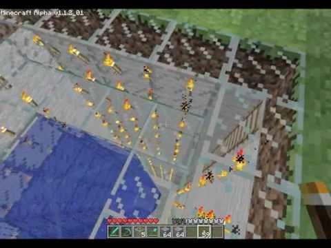 Minecraft - EPIC High Dive with Splash Pool
