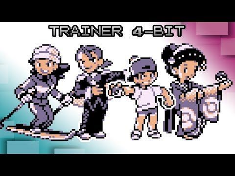 Pokemon Red, Blue and Yellow - Battle! Johto Trainer Music [4bit]