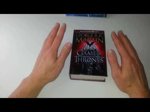 Book look review of: A Game of Thrones - Library Binding