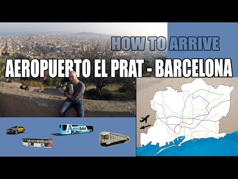 How to get to Barcelona from El Prat Airport