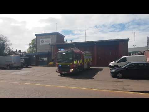 NIFRS / N2171 / KRZ 1047 / Volvo FLL / Rescue Pump / Turn Out from Coleraine Fire Station