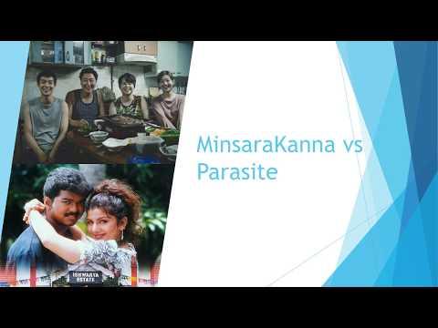 Oscar winner Parasite borrowed from 1999 Tamil film Minsara kanna?--Minsara kanna and parasite