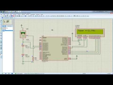 HOW TO  MAKE DIGITAL THERMOMETER | TEMPERATURE SENSOR | BASCOM AVR ATMEGA16 ADC