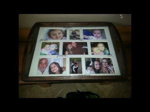 Decorative sevrving tray for mothers day