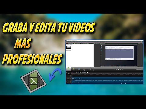 Como Grabo Y edito mis videos para subir a youtube ( Parte 1 )