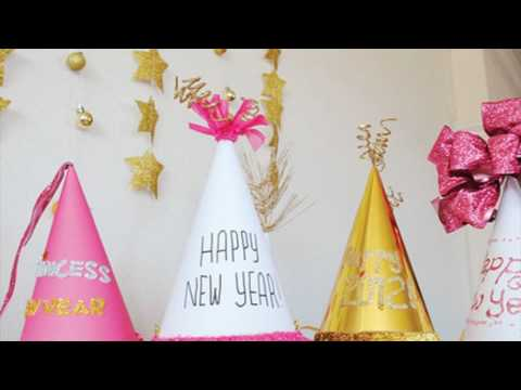 New Year Party Cone Hats
