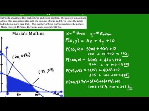 Linear Programming #5: Using the Profit Function
