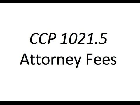 California CCP 1021.5 Private Attorney General explained