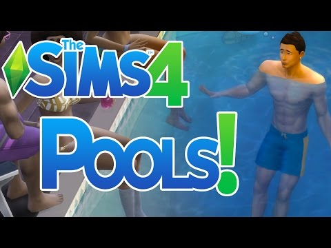 The Sims 4 How to Make a Swimming Pool