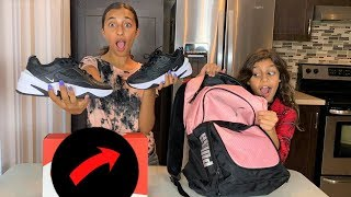 What's inside my School Backpack Challenge!!