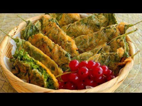 Pan-fried Perilla Leaves with Beef Fillings (Kkaenip-jeon: 깻잎전)