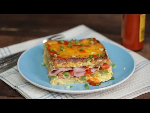 How to make savory stuffed french toast , french bread toast, quick easy french toast recipe