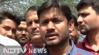'Smriti Irani should go,' says JNU's Kanhaiya Kumar ahead of protest march