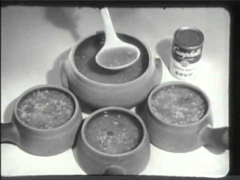Campbells Scotch Broth Soup 1959