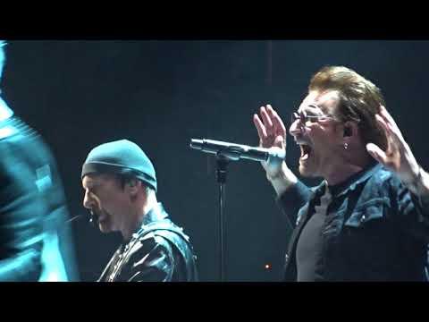 U2 - 2018 - I Will Follow (HD) - From Boston 6-22-2018 (Section 21 Row 1 Seat 1)
