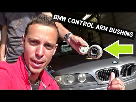 BMW E46 CONTROL ARM BUSHING REPLACEMENT REMOVAL