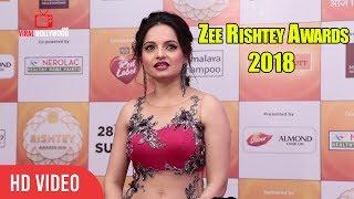Giaa Manek At Zee Rishtey Awards 2018   #ZeeAwards2018