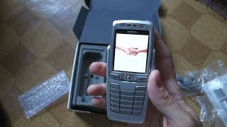 Nokia E70 Unboxing and booting up